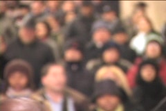 GRAND CENTRAL COMMUTERS - stock footage