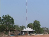 Stock Video Footage of Radio Tower