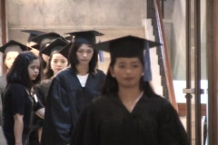 Bible School Graduation Stock Footage
