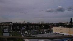 Stock Video Footage of Brooklyn Gowanus Parkway driving