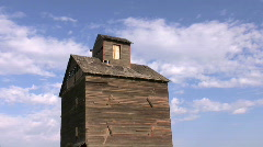 Grain barn timelapse Stock Footage