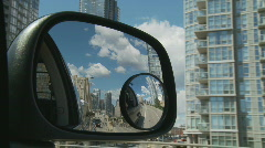 Rearview Mirror Stock Footage
