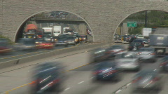 Cross Town Traffic Stock Footage