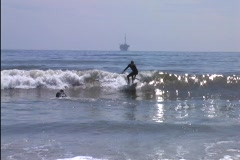 surfer - stock footage