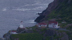 FORT AMHERST LIGHTHOUSE Stock Footage