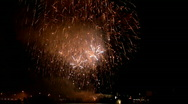 Stock Video Footage of Fireworks show j1