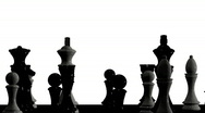 Stock Video Footage of Rotating chessboard