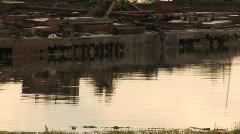 Shipwrecks ducks Stock Footage
