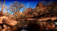 Scenic images of a national park Stock Footage