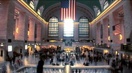 Stock Video Footage of Grand Central Station NYC