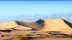 Images of a desert landscape Stock Footage