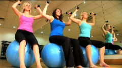 Fitness & wellbeing - stock footage