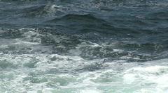 Waves Break Against the Irish Coastline 3 Stock Footage