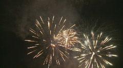 Amazing fireworks 1 na Stock Footage