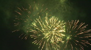 Stock Video Footage of amazing fireworks 1 na