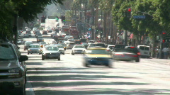 Hollywood Blvd Traffic Time-lapse - stock footage