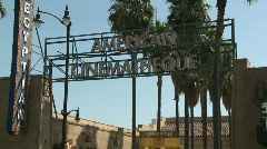 Hollywood Egyptian Theatre Stock Footage
