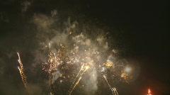 Powerful fireworks na Stock Footage