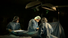 Stock Video Footage of Operating Room 01