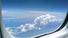 View from Plane 2  - stock footage