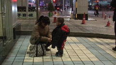Stock Video Footage of Chinese mother and child