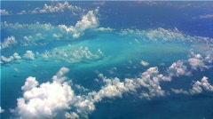 Flying Over Sea 3  Stock Footage