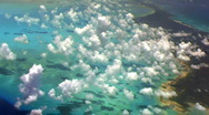 Stock Video Footage of Flying Over Small Island