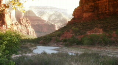 Zion canyon Stock Footage