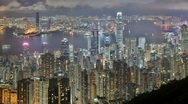 Stock Video Footage of Hong Kong