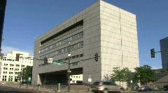 Colorado State Judicial Building Stock Footage