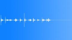 Stock Sound Effects of attic door walk