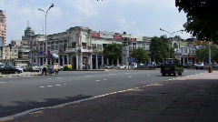 Centre of New Delhi, India Stock Footage