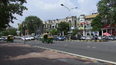 Connaught Place New Delhi 4 (w/sound) Stock Footage
