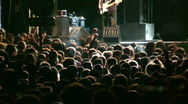Concert people Stock Footage