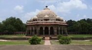 Stock Video Footage of Humayuns tomb Delhi