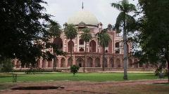 Humayuns tomb Delhi, India Stock Footage