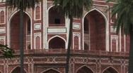 Stock Video Footage of Humayuns tomb Delhi, India