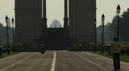 Stock Video Footage of India Gate, Delhi