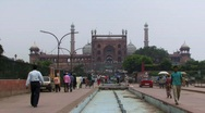 Stock Video Footage of Jama Masjid Mosque, Old Delhi 2