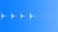 Door glass knock Sound Effect