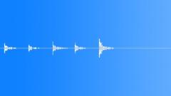 door glass knock - sound effect
