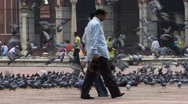 Stock Video Footage of Busy Mosque, Old Delhi