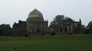 Stock Video Footage of Lodi Gardens tomb