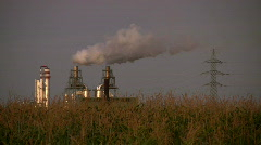 Alternative power plant - stock footage