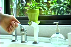 Running Tap Water - stock footage