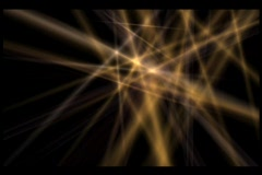 Gold Star Flashes - stock footage