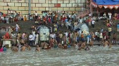 Ganges - stock footage