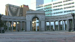 Classical Archway Stock Footage