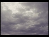 Stock Video Footage of Stormy Clouds 2 B