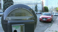 Expired Parking Meter 2 Stock Footage